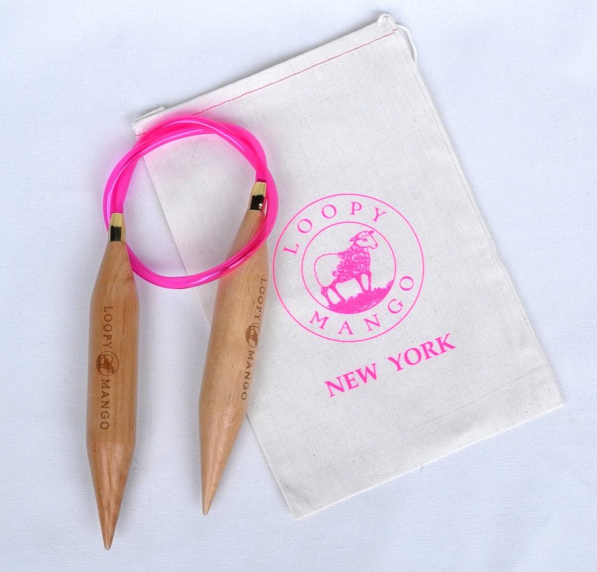 Knitting Needle Sizes 35mm : Loopy mango gigantic size knitting needles mm by