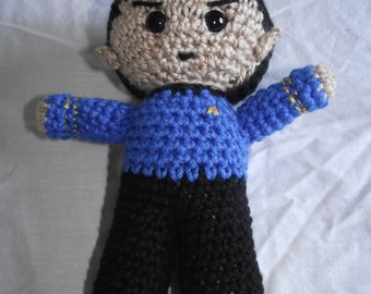 Crochet Star Trek Spock Plush