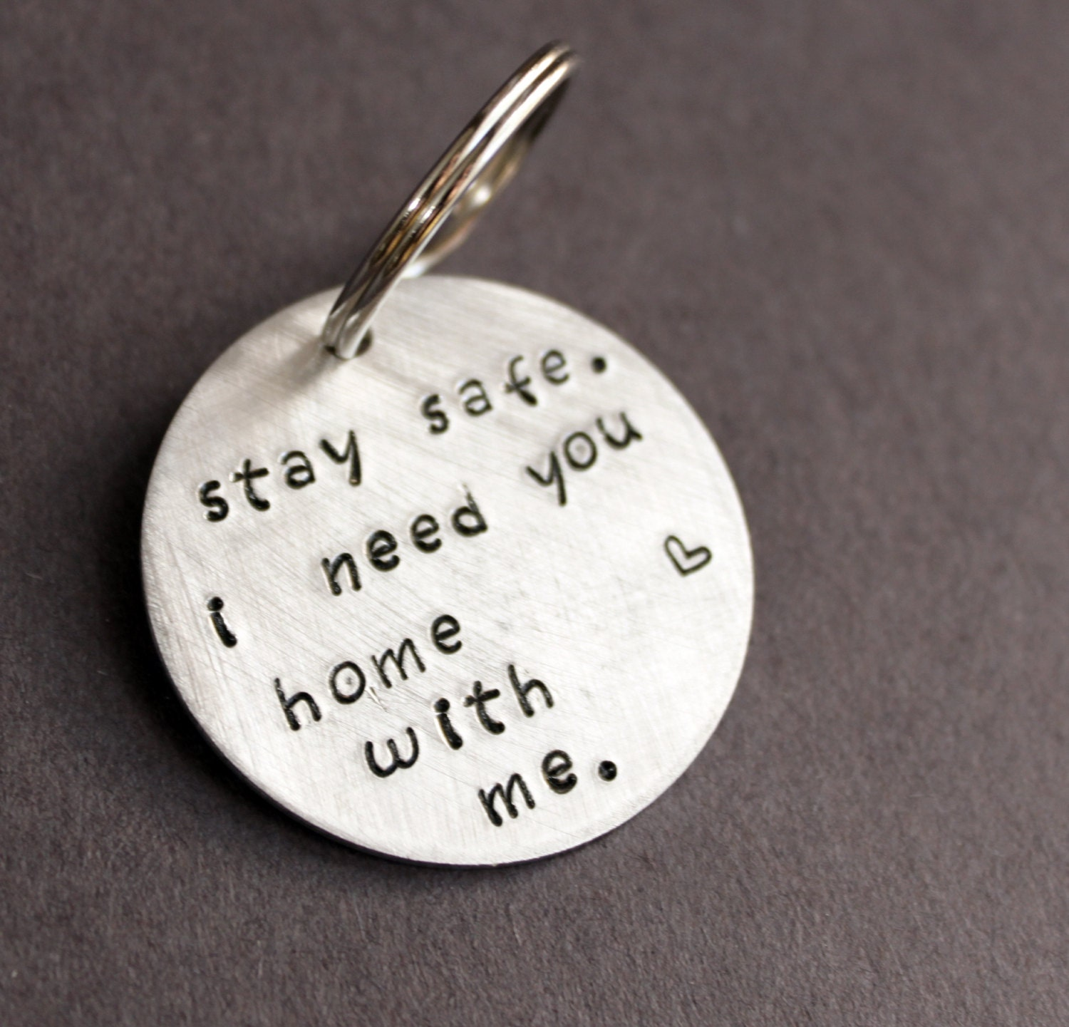Stay Safe Keychain I Need You Home With Me Police Officer Gift Birthday Gifts For Boyfriend