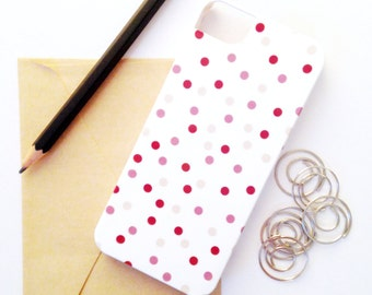 SALE Berry Purple Confetti iPhone 5 / 5S Barely-There Phone Case - Gift for Her, Tech / Phone Accessories