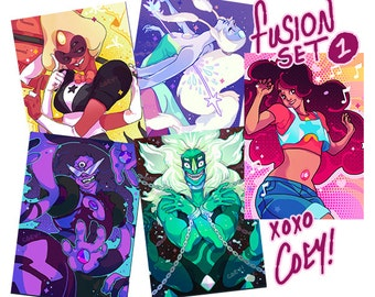 Coey: Fusions (Pearlescent Print Set) Steven Universe