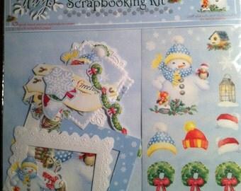 Snow Days Scrapbooking Kit by Carol Wilson Fine Arts Inc.