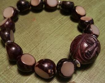 Men's Buri Seed Bracelet