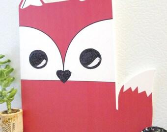 Fox - Greeting Card