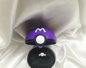 Pokeball Engagement Ring Box: Masterball option RING NOT INCLUDED!