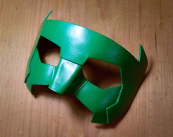 Green Lantern Mask Kyle Rayner New Guardians Leather Masks New 52 Cosplay Costume Red Blue White Halloween Super hero DC Comics Sidekick