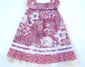 Ruffles dress,Pink Summer Dress,Girls Dress,party dress,baby toddler dress