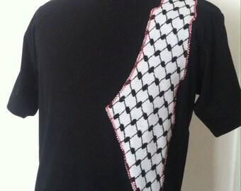 TSHIRT MEN Kuffieh Style Original KEFFIYEH Holyland
