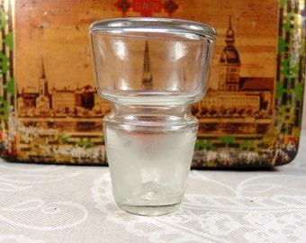 Vintage glass bottle stopper b65