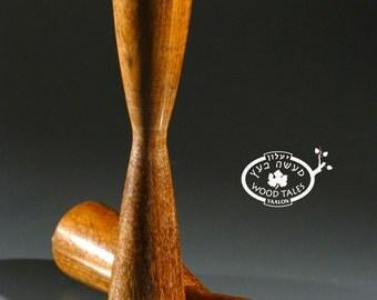 Fine Wooden  Candlesticks