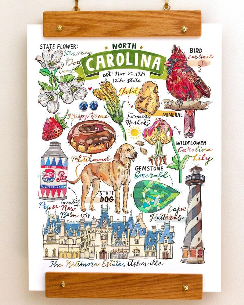 North Carolina State Symbol