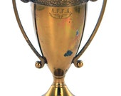Small Metal Trophy Cup with Handles
