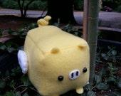 CUSTOM Flying Pig Plush