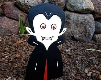 Halloween Vampire Yard Art