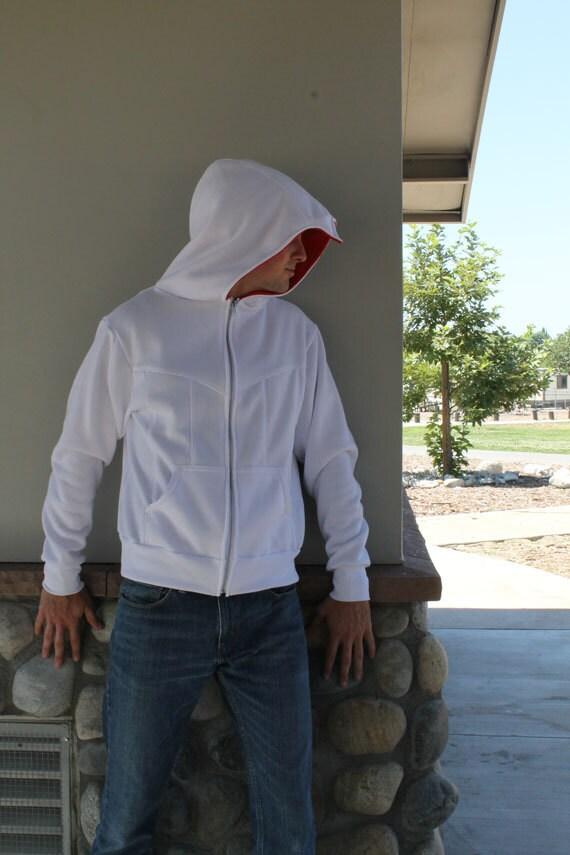 Assassin Beaked Hoodie Cosplay Costume Jacket