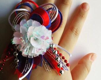 Homecoming Mum Rings || Adjustable rings