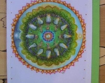 Earth Magic Handmade Card