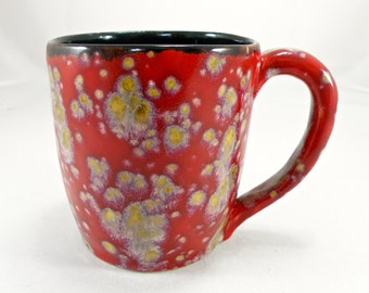 Extra large tea mug beer mug  28 oz. food safe Glaze STONEWARE huge mug made to order