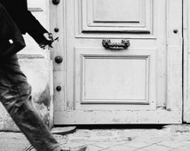 Paris Street Photo - Paris Photography, Street Photography, Paris Print, Paris Decor, Paris Black and White, Home Decor