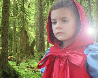 Just the cape Into the Woods Little Red Riding Hood