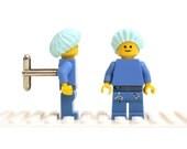 Surgeon / Medical cufflinks. Cufflinks made with LEGO(R) bricks. Cuff links Cufflink Wedding gift