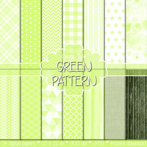 Light green digital paper, Light green digital pattern, Light green digital background, Light green printable party invitation paper