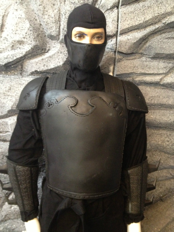 Batman Dark Knight League Of Shadows Armor Costume Ninja