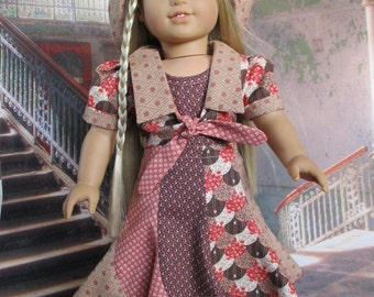 70s Swirl fits American Girl Doll and 18 inch dolls