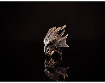 Dragon Pendant Dragon Jewelry Silver Dragon Charm