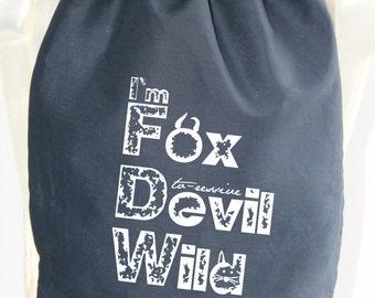 Im Fox Devil Wild - bag - rucksack