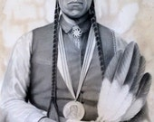 HONORABLE MENTION - native american, indian, warrior, Arapaho, feather