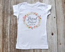Petal Patrol T-shirt  / Flower Girl T-shirt / Wedding T-shirt Photo Prop
