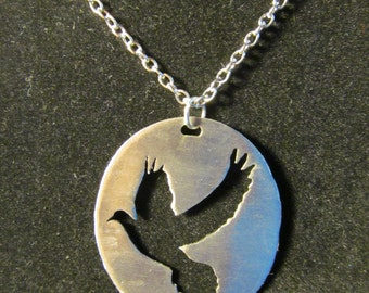 Flying Dove Necklace