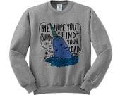 Mr. Narwhal Elf Crewneck Sweater, Funny Christmas Sweater, Elf Movie Shirt, Bye Buddy Shirt, Buddy The Elf Shirt