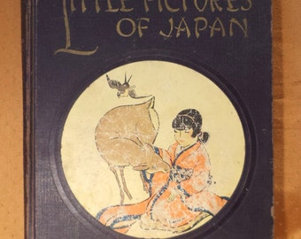 Nursery Rhymes and Nursery Songbook, Japanese Poems, Antique Children's Book