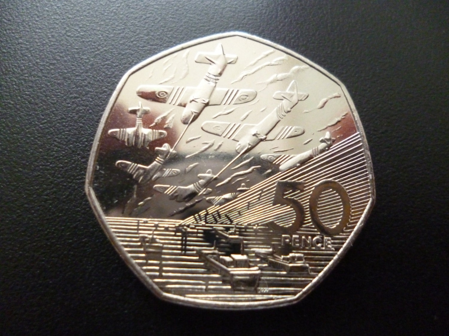 United Kingdom 1994 Fifty Pence Coin 50p In Uncirculated