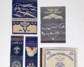 Vintage Navy Matchbooks 1930s Military Matchbooks 1940s Vintage Matchbooks US Navy Airforce Matchbooks Air Force Matchbooks Vintage