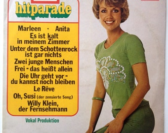 Europa Hitparade 21 LP Vinyl Record Album, Europa - 111 855.2,  Schlager, Pop, 1977