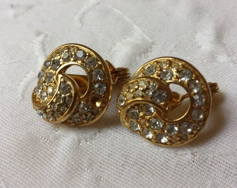 "Vintage ""Clip On"" Earrings"