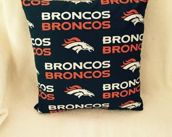 Denver Broncos Pillow
