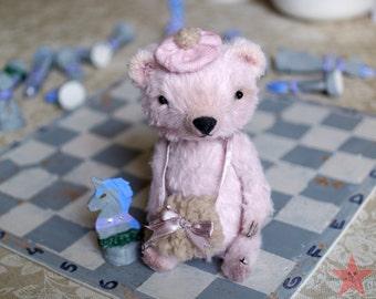 Artist teddy bear OOAK 6 inch small handmade