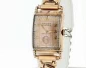 10K Gold Filled Gruen Curvex Precision Wrist Watch