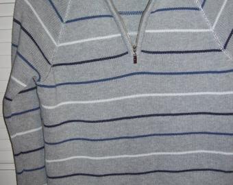 Vintage Tommy Hilfiger Grey Pullover  Preppy School Item Size Small