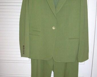 Vintage Talbot's Wonderful Pantsuit - Versatile Career Find - Size 14 PERFECT  !