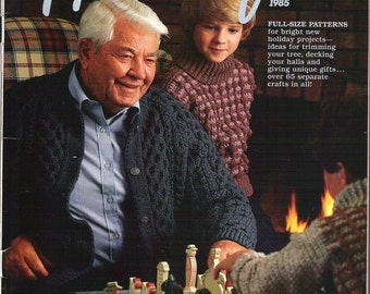 Vintage Country Handcrafts Magazine Holiday Issue 1985