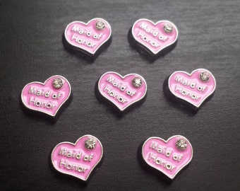 Maid of Honor Floating Charm for Floating Lockets-Gift Idea