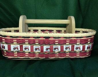 International Harvester Handwoven Caddy Basket