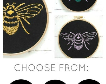 Bee Embroidery Kit {basic}