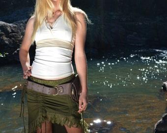 Diva Skirt, Festival Skirt, Pixie Skirt, Goa, Burning Man, Bohemian Skirt, Gypsy Skirt, Faerie, Elven, Goddess, Lace Skirt, Boho, Hippie
