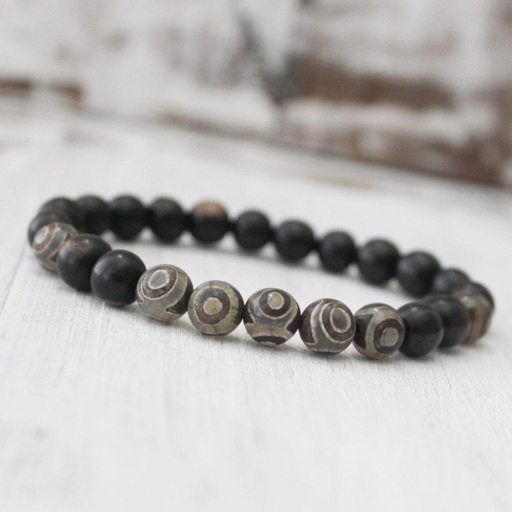 wood bracelet tibetan jewelry healing bracelet